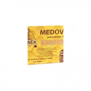 Medánek - medový řez pohankovo - kukuřičný karamelový bez lepku 370g