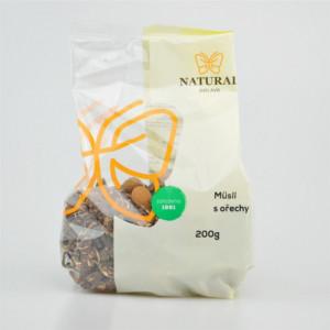 Müsli čoko s ořechy - Natural 200g