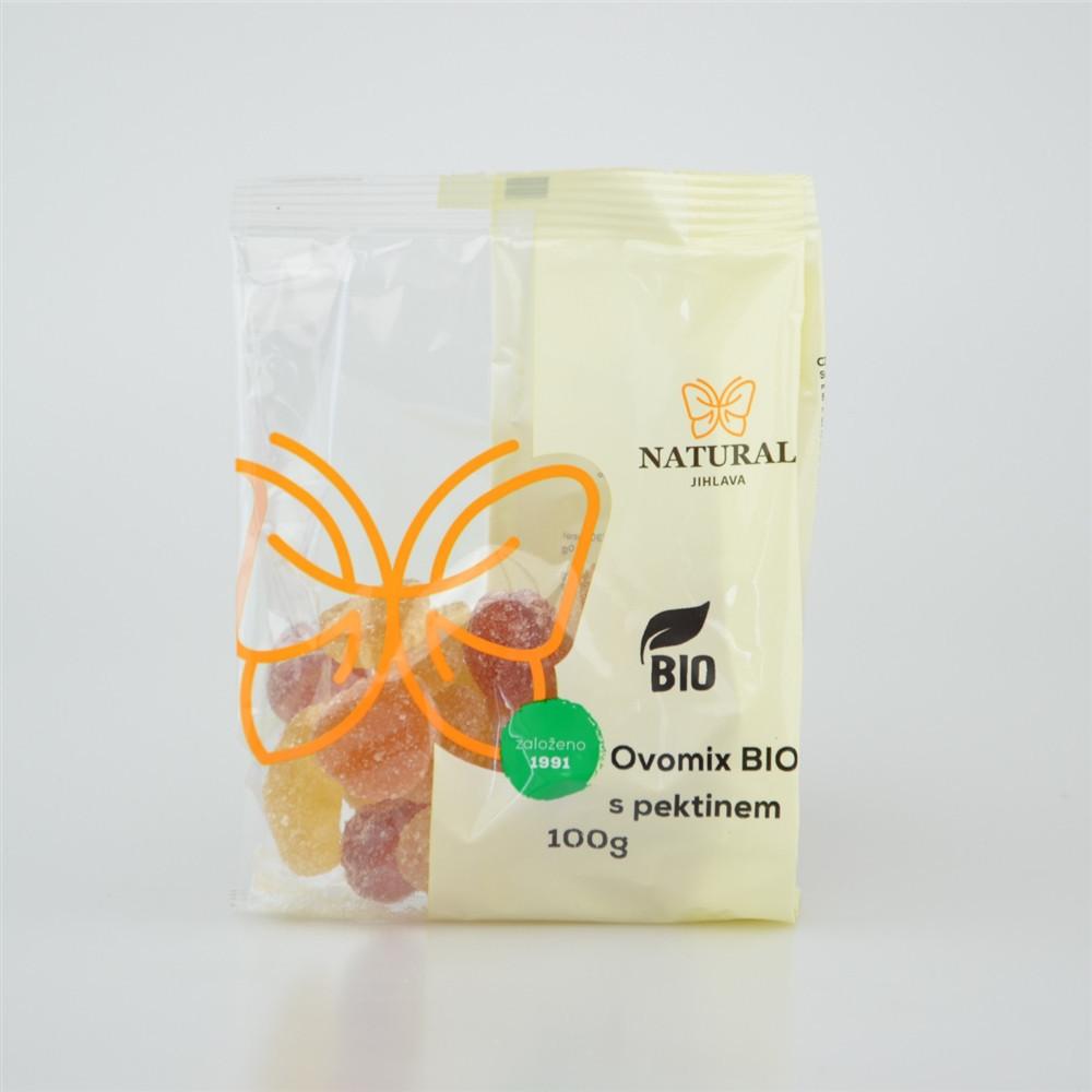 Ovomix s pektinem fruity fruits BIO - Natural 100g