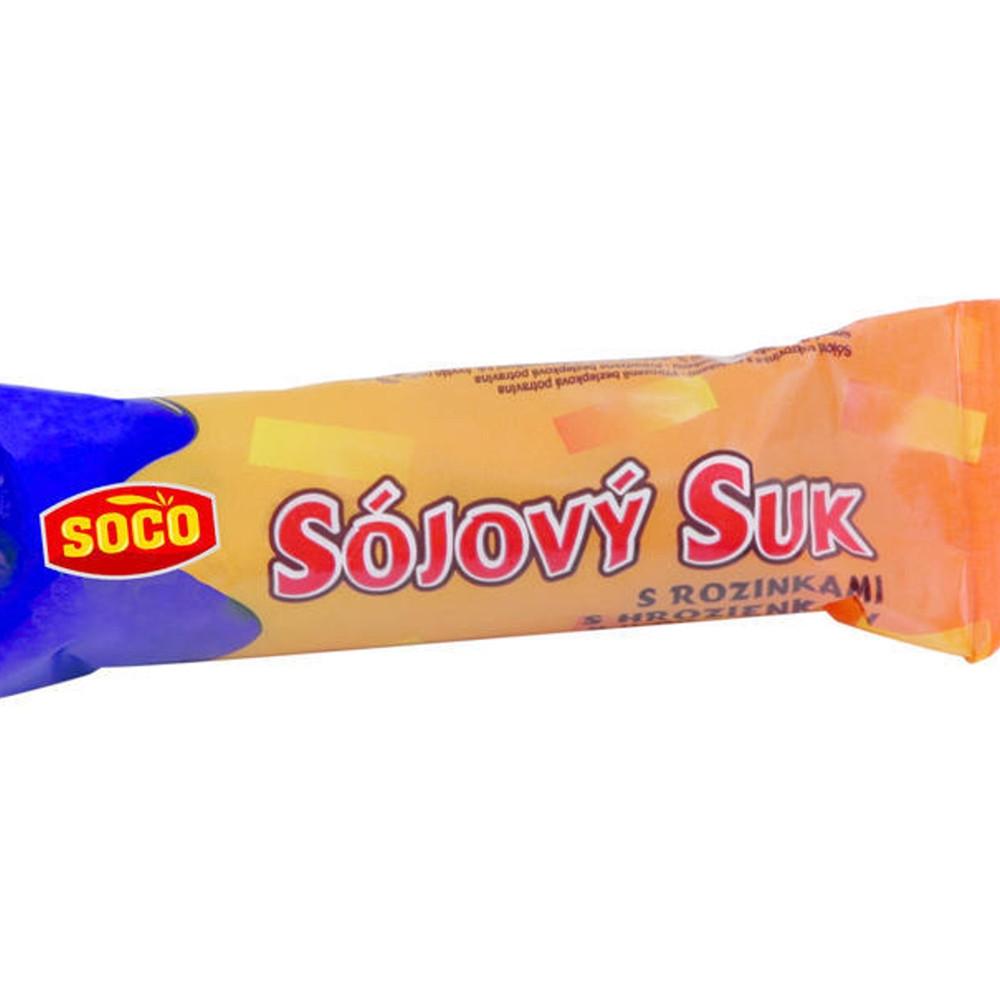 Sójový suk s rozinkami - Soco 50g