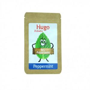 Žvýkačky Peppermint bez aspartamu - Hugo 45g