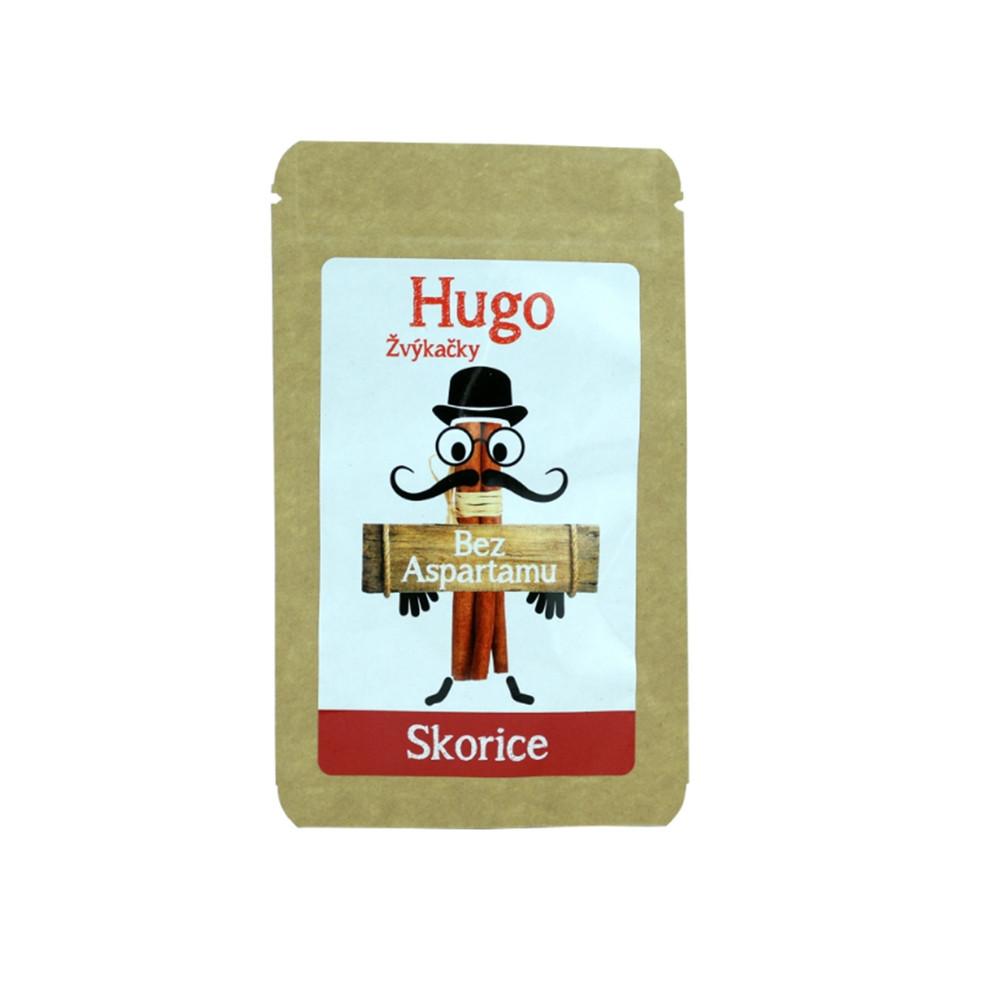 Žvýkačky Skořice bez aspartamu - Hugo 45g