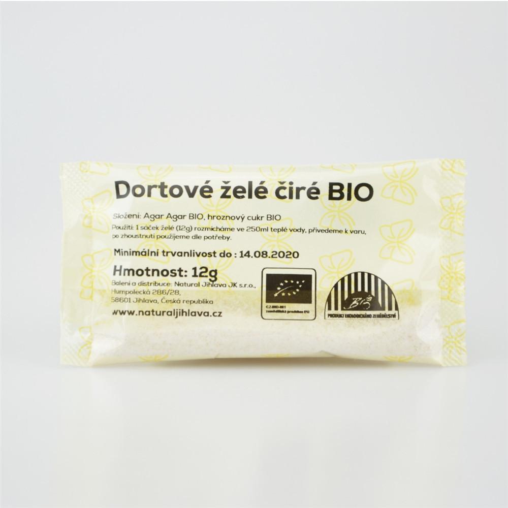 Dortové želé čiré BIO - Natural 12g