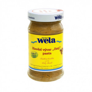 """Hovězí vývar """"čistý"""" pasta - WELA 248g"""