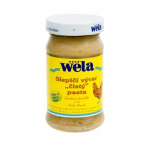 """Slepičí vývar """"čistý"""" pasta - WELA 240g"""