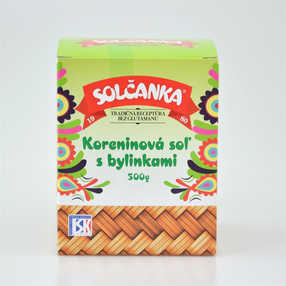 Solčanka - kořeninová sůl s bylinkami 500g