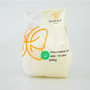 Sůl himalájská bílá hrubá - Natural 500g