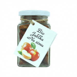 BIO sušená jablka na zimu s agáve sirupem - Dr. Hlaváč 80g
