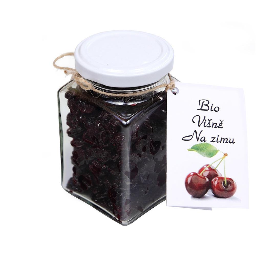 BIO sušené višně na zimu s agáve sirupem - Dr. Hlaváč 140g