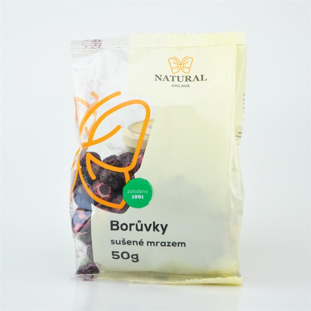 Borůvky celé mrazem sušené - Natural 50g