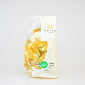 Jablka kroužky chips - Natural 80g