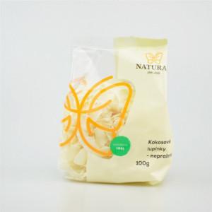 Kokosové lupínky - Natural 100g