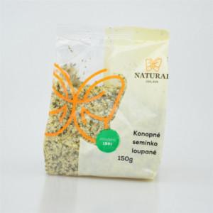 Konopné semínko loupané - Natural 150g