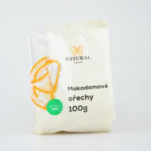 Makadamové ořechy - Natural 100g