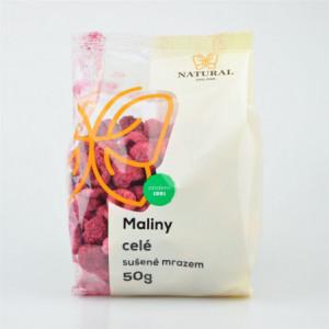 Maliny celé mrazem sušené - Natural 50g