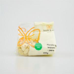 Mandle sladké loupané - jádra - Natural 100g