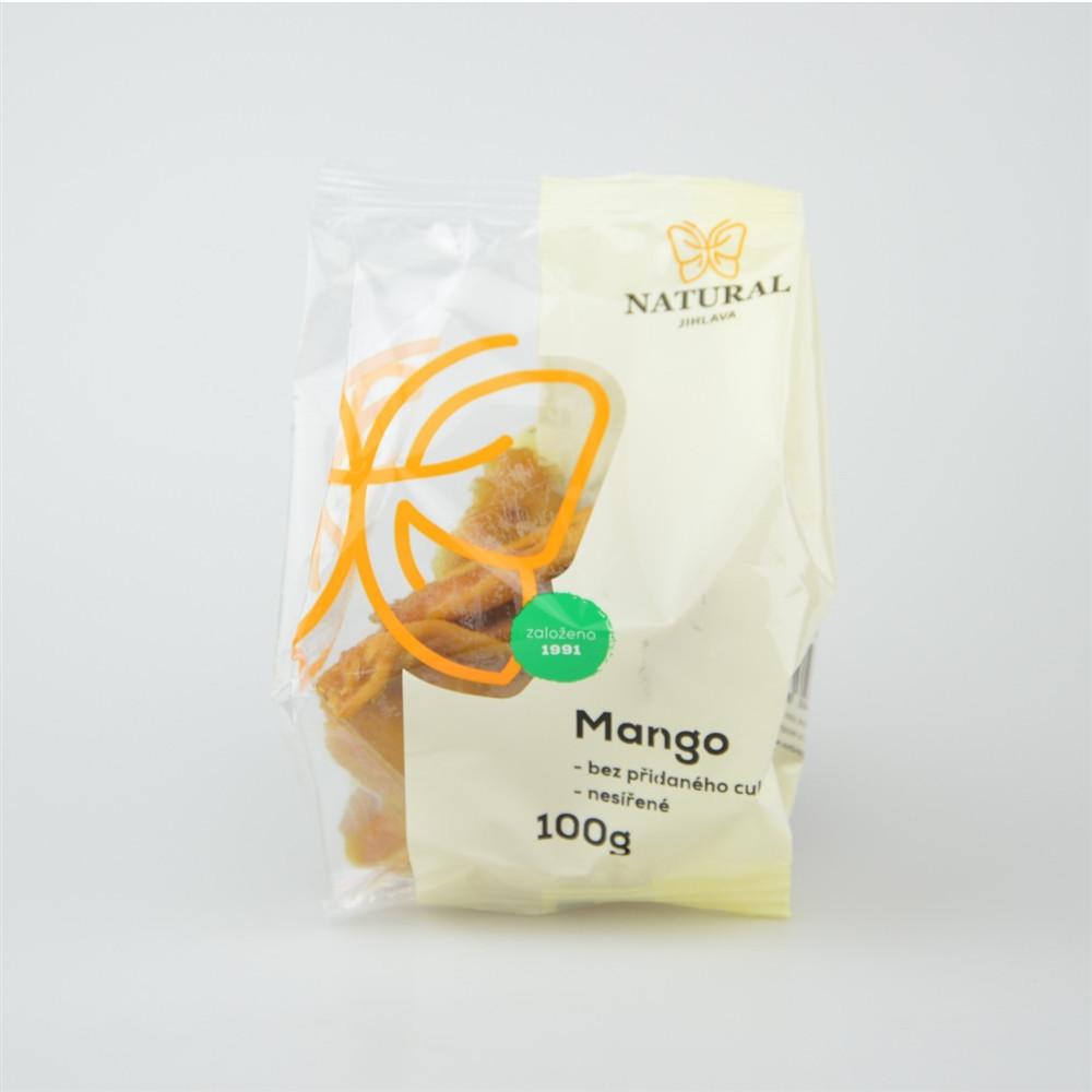 Mango nesířené bez cukru - Natural 100g
