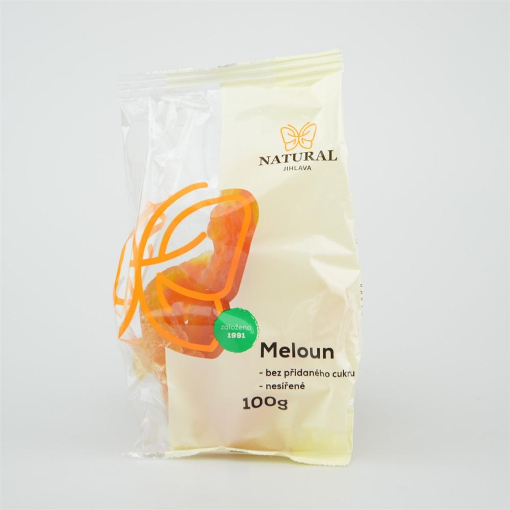 Meloun nesířený bez cukru - Natural 100g