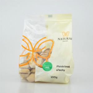 Ořechy pistáciové - Natural 100g