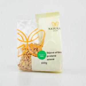 Oříšky sójové pražené solené - Natural 100g