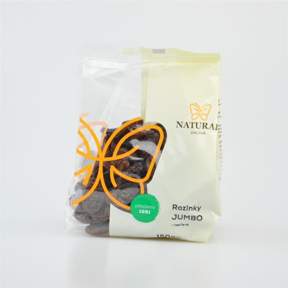 Rozinky jumbo - Natural 150g