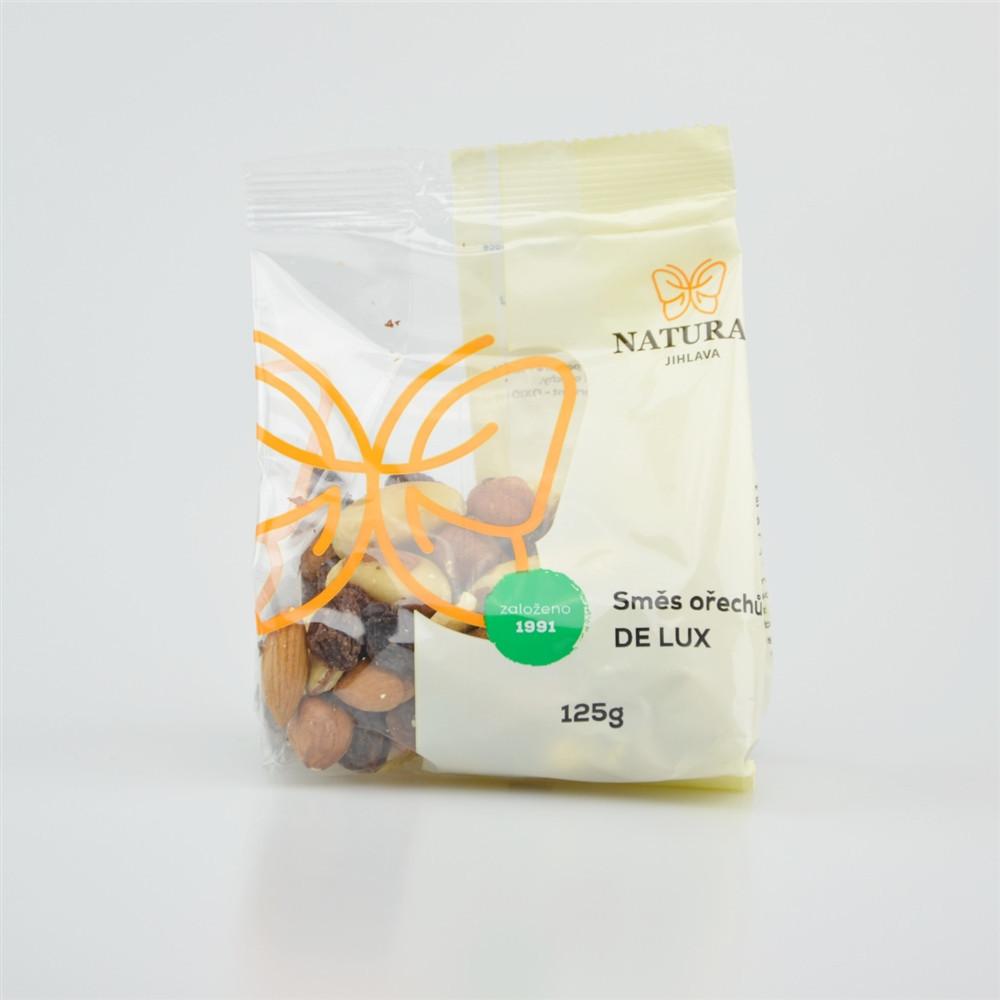 Směs ořechů DE LUX - Natural 125g