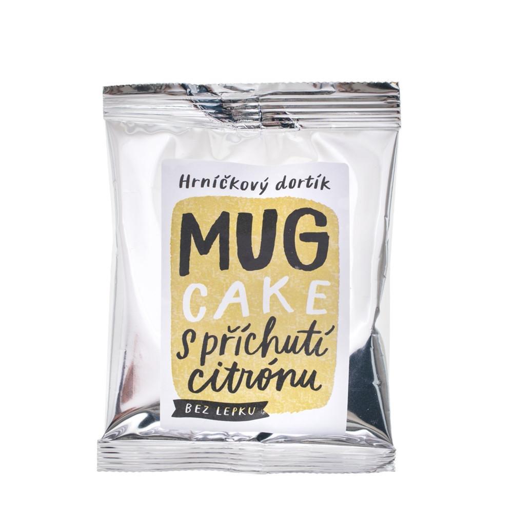Hrníčkový dortík MUG CAKE s příchutí citrónu bez lepku - Nominal 60g