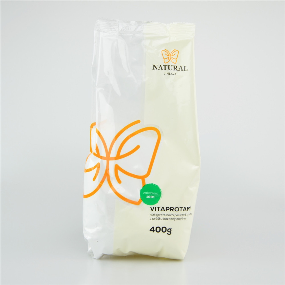 Vitaprotam - nízkoproteinová pečivová směs v prášku - Natural 400g