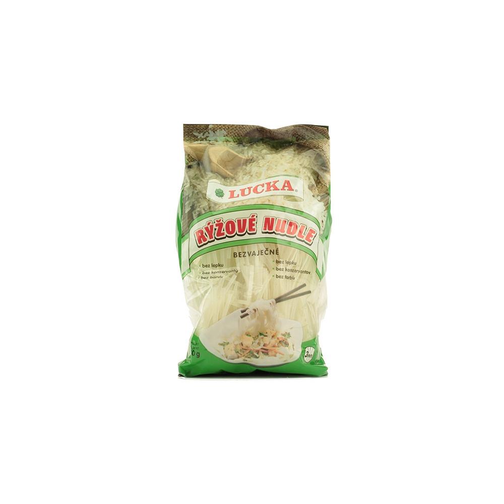 Rýžové nudle bezlepkové 3mm - Lucka 240g