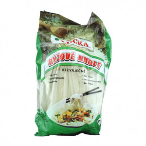 Rýžové nudle bezvaječné 7mm - Lucka 240g