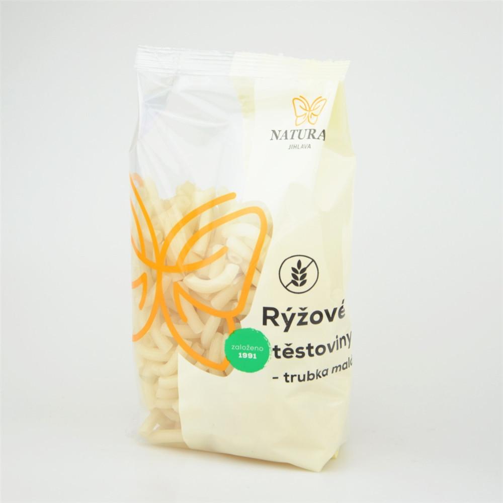Rýžové těstoviny - trubka malá - Natural 300g