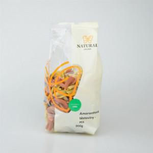 Těstoviny amaranthové - mix - Natural 300g