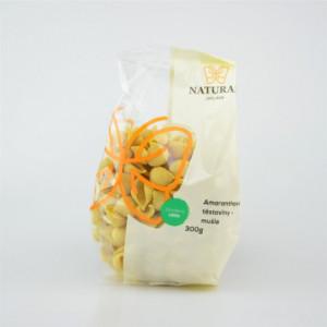 Těstoviny amaranthové - mušle - Natural 300g