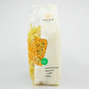 Těstoviny amaranthové - nudle - Natural 300g