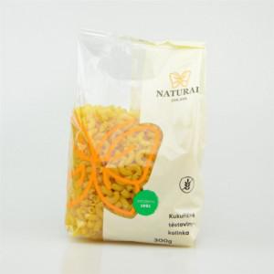 Těstoviny kukuřičné - kolínka - Natural 300g