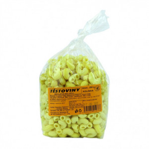 Těstoviny kukuřičné - kolínka bez lepku - Rytinová 250g