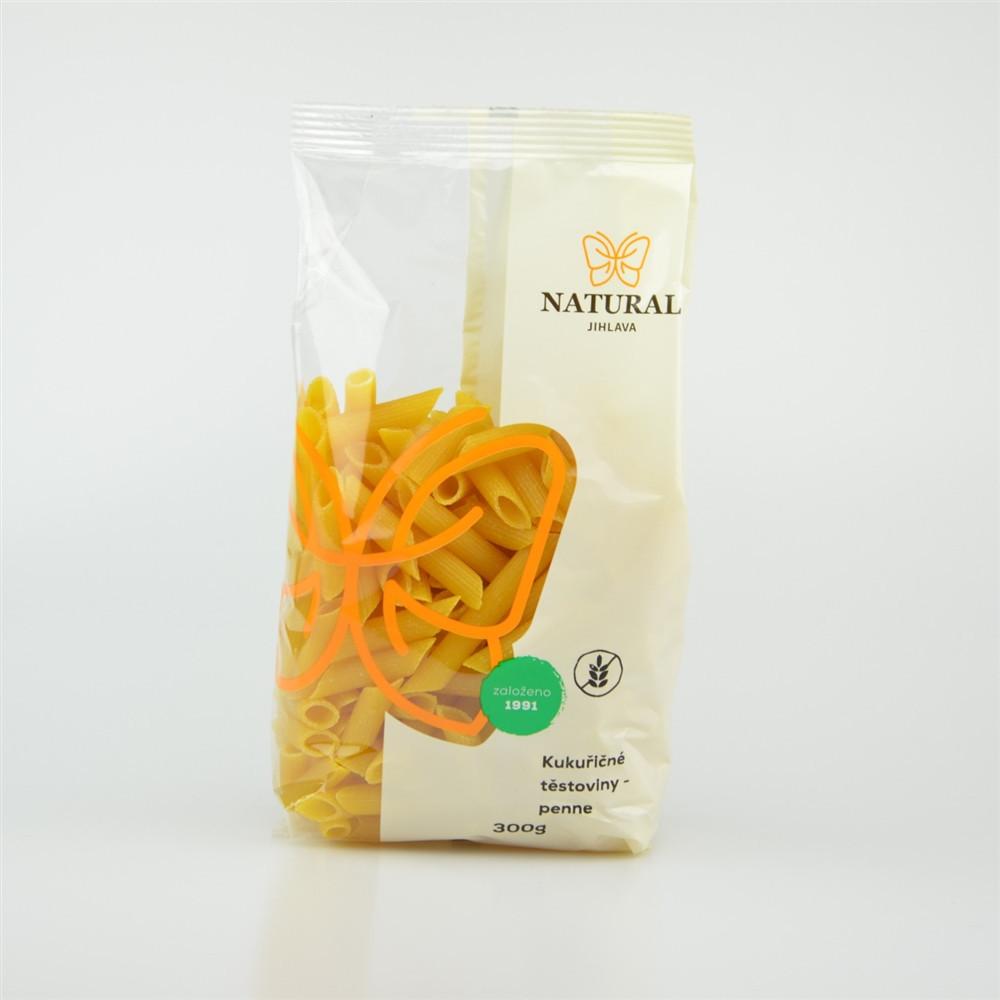 Těstoviny kukuřičné - penne - Natural 300g