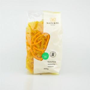Těstoviny kukuřičné - vřetena - Natural 300g