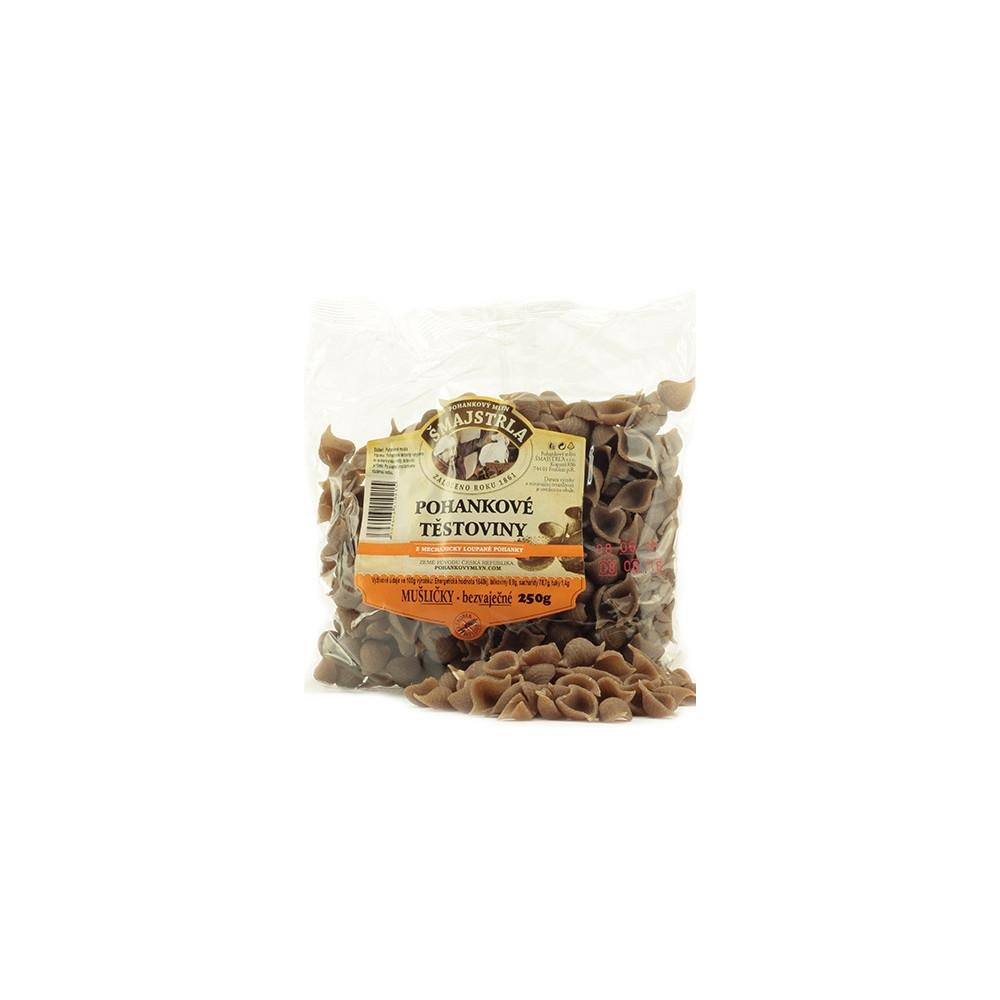 Těstoviny pohankové - mušle - Šmajstrla 250g