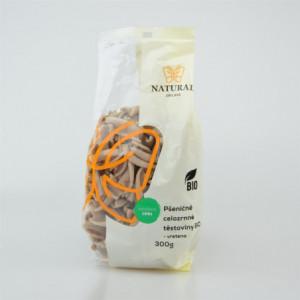 Těstoviny pšeničné celozrnné BIO - vřetena - Natural 300g