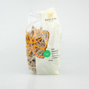 Těstoviny špaldové celozrnné BIO - vřetena - Natural 300g