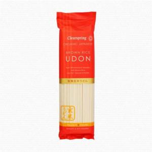 Udon s hnědou rýží - Clearspring 200g