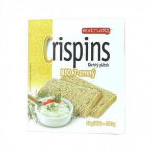 Crispins BIO křehký plátek 7.zrnný - Extrudo 100g