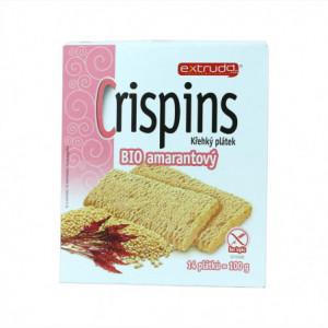 Crispins BIO křehký plátek amarantový - Extrudo 100g