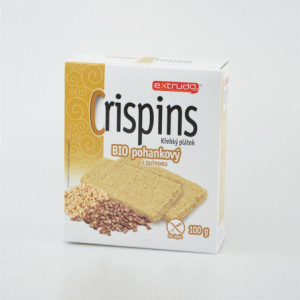 Crispins BIO křehký plátek pohankový s quinoou - Extrudo 100g