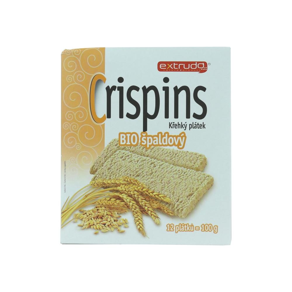 Crispins BIO křehký plátek špaldový - Extrudo 100g