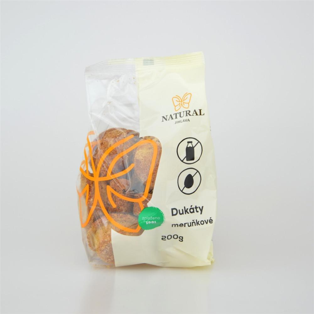 Dukáty meruňkové - Natural 200g