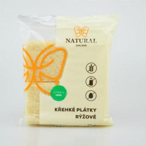 Křehké plátky rýžové - Natural 75g