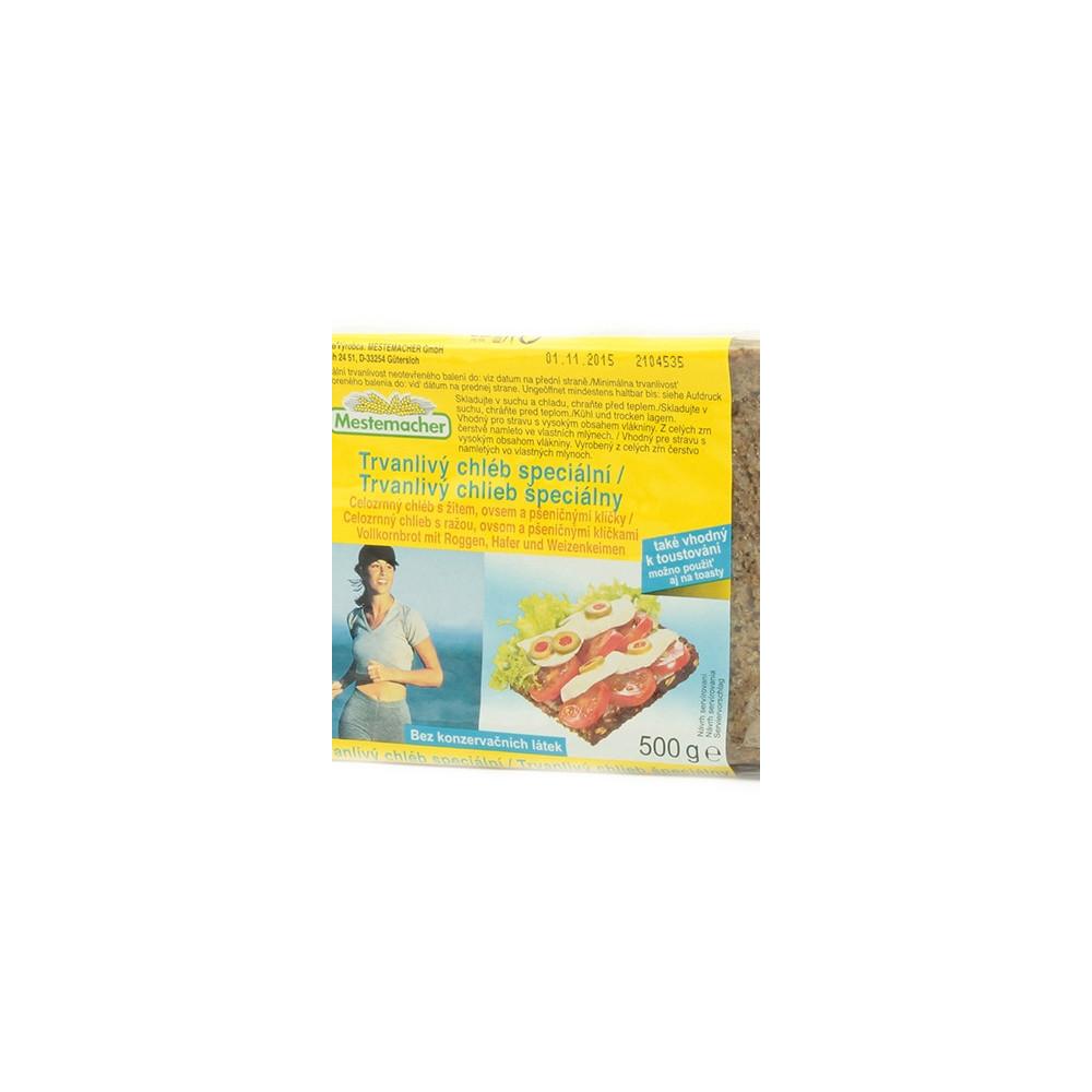 Mestemacher - trvanlivý chléb speciální 500g