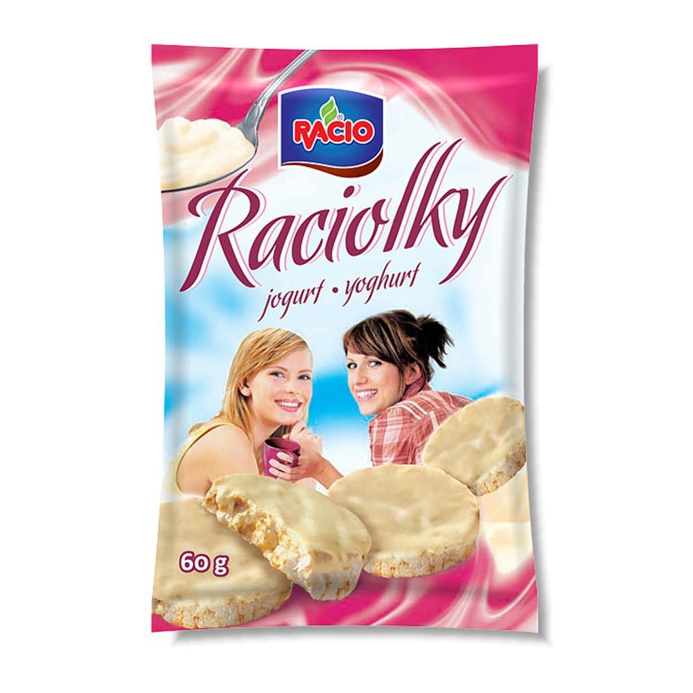 Racio - Raciolky - jogurt 60g